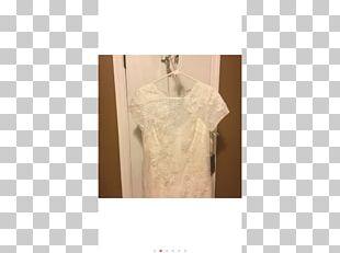 Clothes Hanger Gown Shoulder Beige Clothing PNG