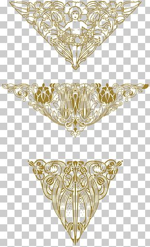 Art Nouveau Ornaments PNG