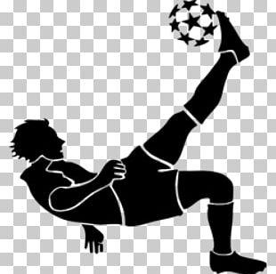 Football Player Soccer Kick Goal PNG