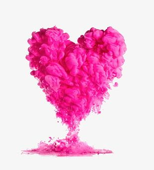 Love Pink Smoke PNG