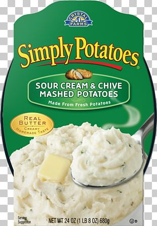 Sour Cream Mashed Potato Hash Browns Dipping Sauce PNG