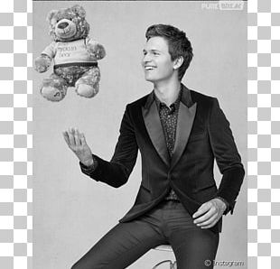 Ansel Elgort Photograph United States Of America Black And White Naver Blog PNG