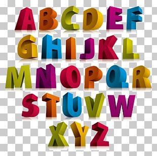 Alphabet Letter 3D Computer Graphics Font PNG