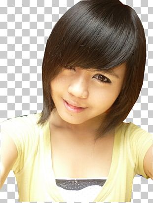 Layered Hair Mariya Nishiuchi Hairstyle Model PNG