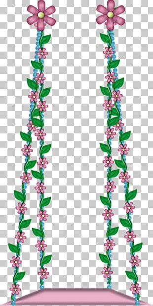 Swing Floral Design Flower Drawing PNG