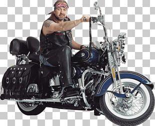 Motorbiker Harley Davidson Motorcycle PNG