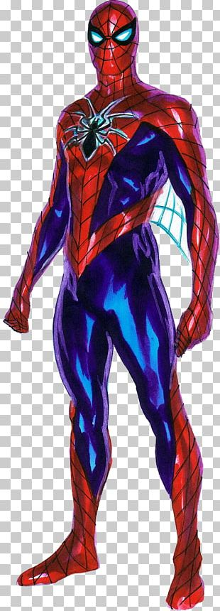 The Amazing Spider-Man Iron Man Miles Morales All-New PNG