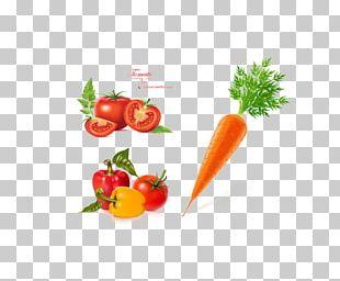 Bell Pepper Tomato Vegetable Carrot PNG
