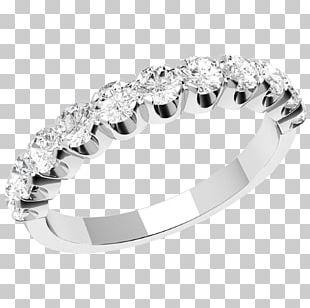 Eternity Ring Brilliant Diamond Cut Wedding Ring PNG