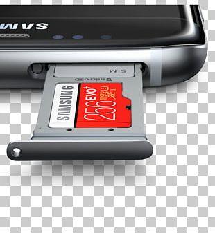 Samsung GALAXY S7 Edge Subscriber Identity Module Dual SIM Smartphone PNG