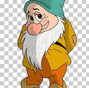 Seven Dwarfs Bashful Dopey Sneezy PNG