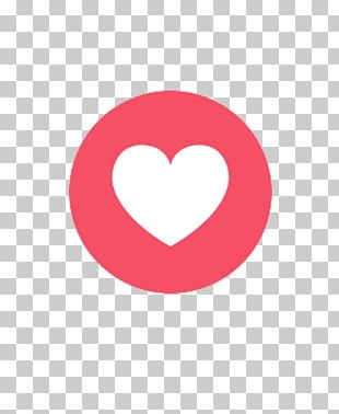 Social Media Facebook Love Emoji PNG