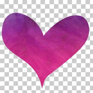 Petal Pink M Heart PNG