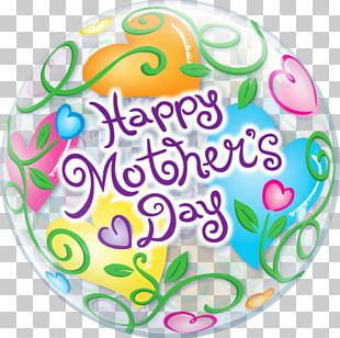 Gas Balloon Mother's Day Gift PNG