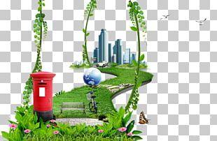 Garden Building PNG