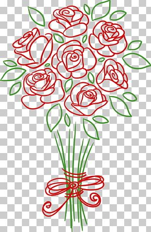 Wedding Invitation Flower Bouquet Rose PNG