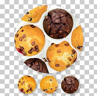 Chocolate Chip Cookie Muffin Bagel Recipe PNG