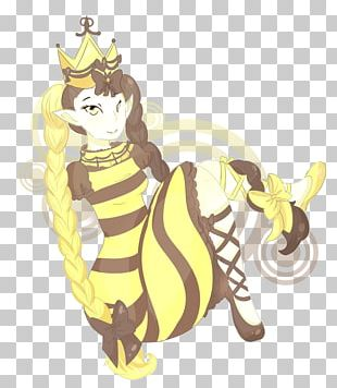 Giraffe Cat Horse Illustration PNG