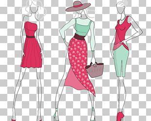 Fashion Design Fashion Illustration Model PNG