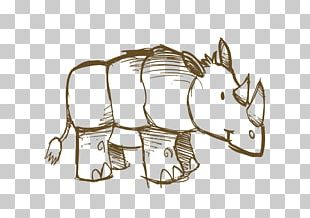 Hippopotamus Drawing PNG