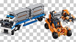 LEGO 42062 Technic Le Transport Du Conteneur Lego Technic Hamleys Toy PNG