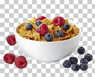 Breakfast Cereal Corn Flakes Bowl PNG