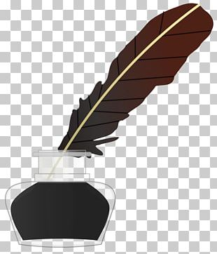Quill Pen Ink Paper PNG