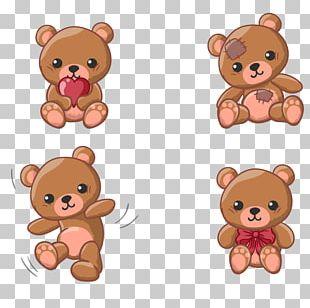 Teddy Bear Animation PNG