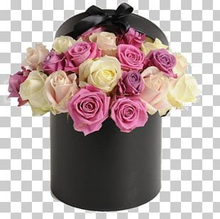Flower Bouquet Box Garden Roses Floboks PNG