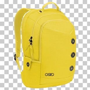 Ogio Yellow Backpack PNG