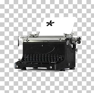 Typewriter Marketing Brand Management Market Research PNG