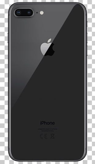 Apple IPhone 8 Plus Space Grey Telephone PNG