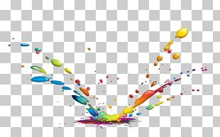 Drop Ink Color Paint PNG
