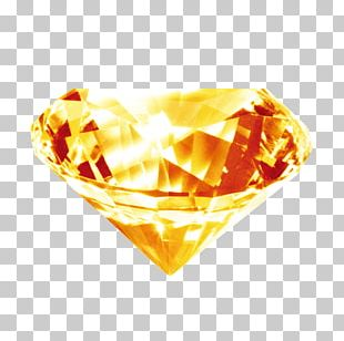 Diamond Gold Brilliant PNG