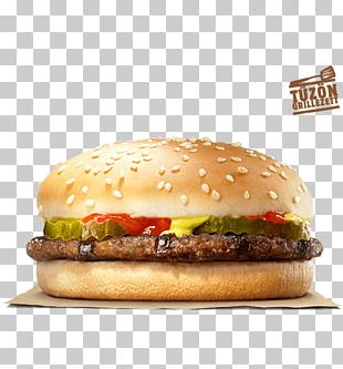 Hamburger Cheeseburger Whopper Fast Food Big King PNG