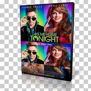 Anna Faris Take Me Home Tonight Hair Coloring Display Advertising PNG