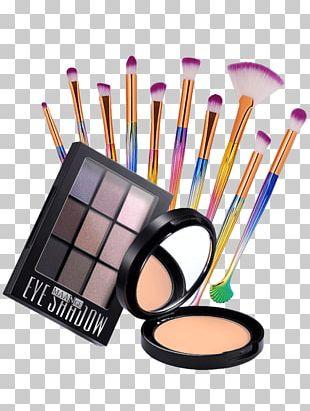 Eye Shadow Cosmetics Makeup Brush Face Powder PNG