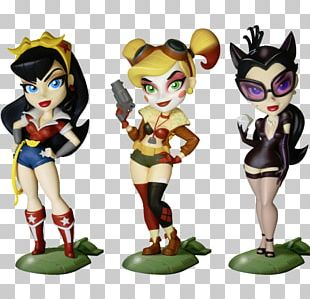 Harley Quinn Wonder Woman DC Comics Bombshells Catwoman Poison Ivy PNG