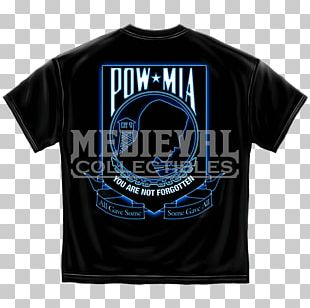 T-shirt National League Of Families POW/MIA Flag Flag Of The United States Prisoner Of War PNG