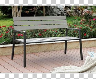 Bench Table Garden Furniture Chair PNG