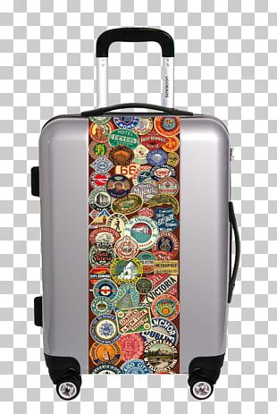 Hand Luggage Checked Baggage Suitcase Travel PNG