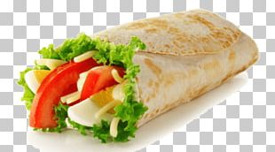 Veggie Burger Wrap Hamburger Vegetarian Cuisine Fast Food PNG