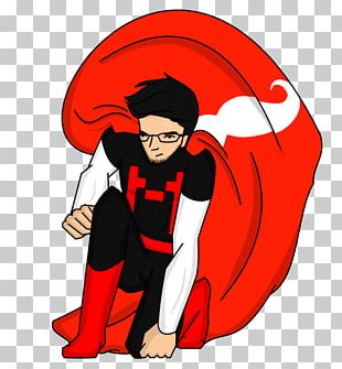 Comic Book Superhero Drawing PNG