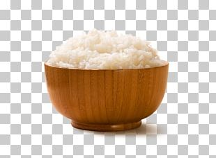 Cooked Rice Bowl White Rice PNG