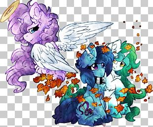 Flowering Plant Horse Fairy Cartoon PNG