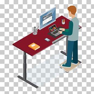 Standing Desk Standing Desk Balance Board Treadmill Desk PNG