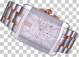 Steel Watch Strap Product Design PNG