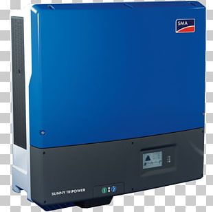 SMA Solar Technology Power Inverters Solar Inverter Grid-tie Inverter Three-phase Electric Power PNG
