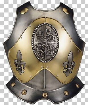 Toledo Breastplate Armour Cuirass Middle Ages PNG