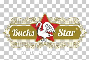 Bucks Star Beer Logo Brewer's Yeast Graphic Design PNG